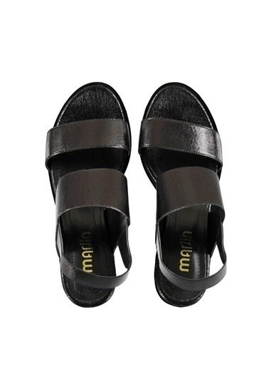 Marjin DolguTopuk Ayakkabı Siyah